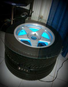 car wheel coffee table AZEV R16