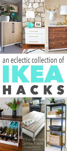 An Eclectic Collection of IKEA Hacks - The Cottage Market