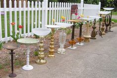 make a splash in your yard with a lamp base birdbath! #upcycle #recycle