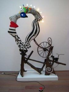 Jean Tinguely: Mechanical Sculptures | Orwellwasright's Weblog