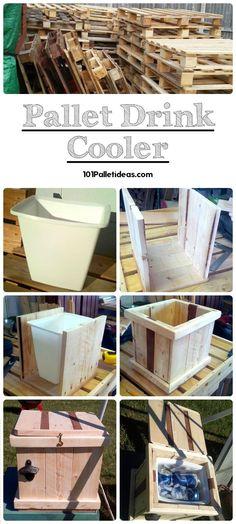 DIY-Pallet-Cooler.jpg (720×1600)