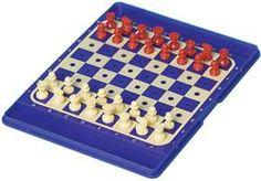 travel plastic plug chess set