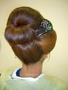 Pic Chignon Orchidée Rose Et Beige Accessoire Coiffure Selling Well All Over The World