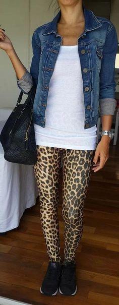 LEGGING  #legging + #animalprint ❤❤ eNjOy SaTuRdAy!!!