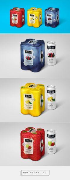 älska #Fruit #Cider #packaging designed by Gustaf Boman Network AB - http://www.packagingoftheworld.com/2015/06/alska-cider.html