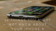 12 Things You Might Not Know About Your NEW iPhone. Click to be amazed. #spon #TechHacks