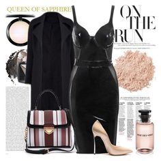 """QUEEN OF SAPPHIRE"" by gaby-mil ❤ liked on Polyvore featuring Oris, La Mer, Avon, MAC Cosmetics, Louis Vuitton and queenofsapphire"