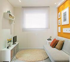 Pintando Ambientes: Um cômodo e três funções: quarto de hóspedes, home-office e sala de TV