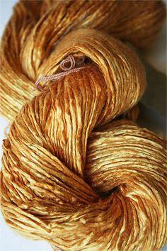 Peau De Soie :: Silk Yarn :: Wheat