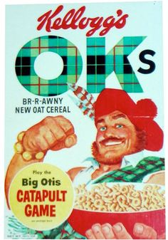 Big Otis on Kellogg's OKs...now that's a cereal mascot I can appreciate!