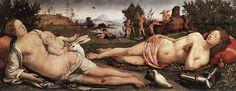 Piero di Cosimo - Venus, Mars, and Cupid - WGA17654.jpg