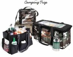 Thirty One for a camping trip!     #ThirtyOne #ThirtyOneGifts #camping #personalization #Organize