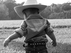 country boy, country baby, cowboy baby photography