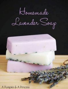 Homemade Natural Lavender Soap | Health & Natural Living