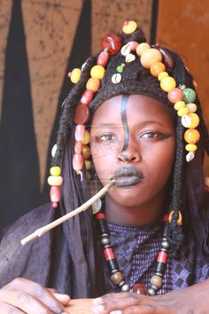 "Africa | ""Traditional Toucouleur Jewelry and garment"".  Senegal 