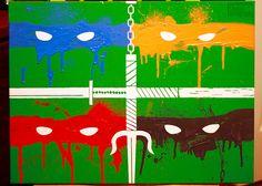 Teenage Mutant Ninja Turtles Painting