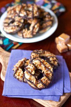Homemade Samoas Cookies