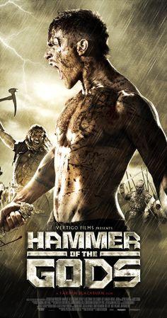 Tanrilarin Cekici - Hammer of the Gods - 2013 - BRRip Film Afis Movie Poster 18 Movies, Movies To Watch, Good Movies, Movies Online, Movies Free, Action Movie Poster, Action Movies, Movie Posters, Book Posters