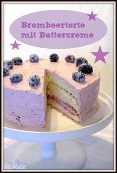 Brombeertorte mit Buttercreme | Backbube