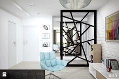 Jasne mieszkanie w optymistycznych barwach - Hol / przedpokój - zdjęcie od Illa Design