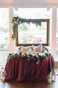Winter Wedding Inspiration - Burgundy & Navy – Confetti Sweethearts
