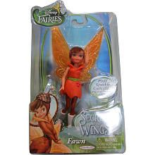 Disney Fairies 4.5 inch Secret of the Wings Small Doll - Fawn