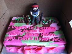 Duck Dynasty cake.  www.sweetcakesbytoni.com