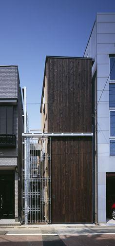 浅利幸男 大岡山の家