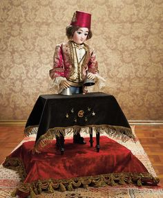 As in a Looking Glass:  French Musical Magician Automaton
