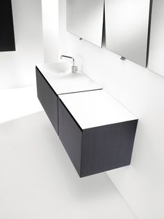 Flow #bathroom #furniture collection by COSMIC
