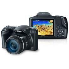 "Câmera Digital Canon Powershot Super Zoom SX400IS 16 MP Zoom óptico de 30x Tela 3"" Preta"