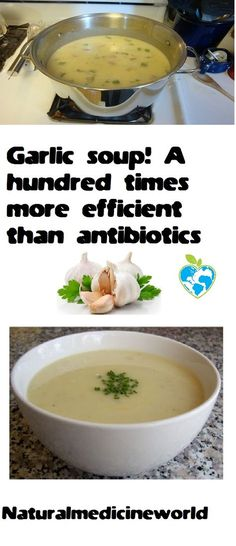 Garlic soup! A hundred times more efficient than antibiotics The benefits of traditional garlic soup have been known for years. Garlic soup has already shown [...]