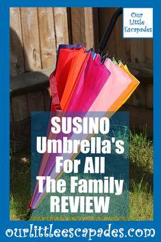 SUSINO umbrellas for all the family REVIEW