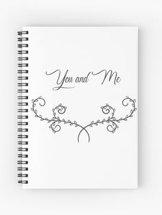 You And I, Shabby Chic, Creations, Notebook, Ornament, Romantic, You And Me, The Notebook, Exercise Book