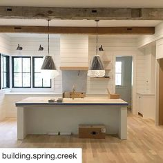 """223 Likes, 10 Comments - Alison Giese Interiors (@alison_giese) on Instagram: """"Dying for a modern farmhouse project? Yeah, make that deux of us. I'm getting my vicarious fix via…"""""""