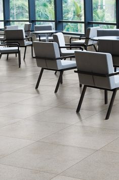 Span a stone look porcelain tile from Florida Tile. Floor and Wall tile. Rubber Flooring, Tile Flooring, Stone Look Tile, Retail Solutions, World Market, Porcelain Tile, Retail Design, Dining Chairs, Wall Tile