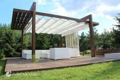 Amazing 44 Unique Wooden Pergola Design Ideas Ideas For Your Dream Garden Diy Pergola, Pergola Decorations, Wood Pergola, Pergola Canopy, Pergola Swing, Deck With Pergola, Outdoor Pergola, Covered Pergola, Pergola Shade