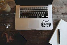Cat Video Director Vinyl Decal Sticker  laptop by KareAndDesign