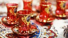 Persian / Iranian tea cups