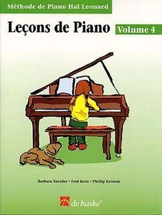 Leçons de piano vol.4 + CD