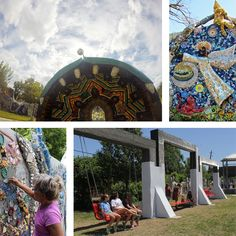 Smither Park is a creative urban space that has developed with the help of artists and friends. Inspired by the Orange Show's philosophy of promoting and sustaining self-taught art, the mosaic-covered park serves as a testimony to the vibrancy and creativity of the city of Houston. OPENS SEPTEMBER 1ST