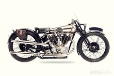 """A few days ago, at the Pendine Speed Trials in Wales, one of the most interesting motorcycles was this 'new' Brough Superior SS101.   Yes, the """"Rolls Royce of motorcycles"""" is back!"""