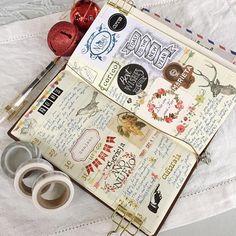 vintage planner