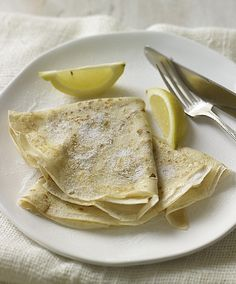 Why mess with a classic? Lemon and sugar pancakes for Pancake Day reign above all others, as does Delia Smith - their creator.