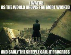 Grow more wicked.