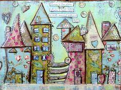 huisjes naaien en tekenen
