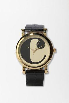 typewriter initial watch