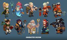 ArtStation - character design, Zhang Yi