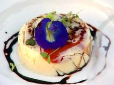 Vanilla Panna Cotta with Sweet Tomato Petals and Aged Balsamic Recipe : Lynn Crawford : Recipes : Cooking Channel Beattys Chocolate Cake, Chocolate Week, Chocolate Drop Cookies, Chocolate Desserts, Lynn Crawford, Vanilla Panna Cotta, Cooking Channel Recipes, American Chocolate, Food Obsession