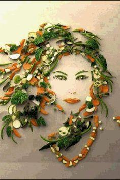 Beautiful Food art!